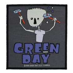 Patch GREEN DAY - HAMMER FACE - RAZAMATAZ, RAZAMATAZ, Green Day