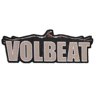 Patch VOLBEAT - RAVEN LOGO CUT OUT - RAZAMATAZ, RAZAMATAZ, Volbeat