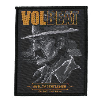 Patch VOLBEAT - OUTLAW GENTLEMEN - RAZAMATAZ, RAZAMATAZ, Volbeat