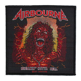 Écusson Airbourne - Breakin Outa Hell - RAZAMATAZ, RAZAMATAZ, Airbourne