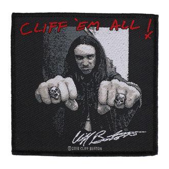 Écusson Metallica - Cliff  Ern Alll - RAZAMATAZ, RAZAMATAZ, Metallica