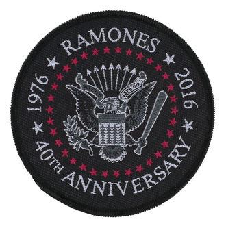 patch RAMONES - 40TH ANNIVERSARY - RAZAMATAZ, RAZAMATAZ, Ramones