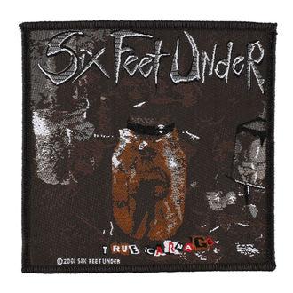 patch SIX FEET UNDER - TRUE CARNAGE - RAZAMATAZ, RAZAMATAZ, Six Feet Under