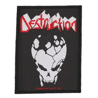 patch DESTRUCTION - SKULL - RAZAMATAZ, RAZAMATAZ, Destruction