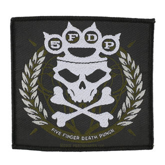 patch FIVE FINGER DEATH PUNCH - KNUCKLES GROWN - RAZAMATAZ, RAZAMATAZ, Five Finger Death Punch