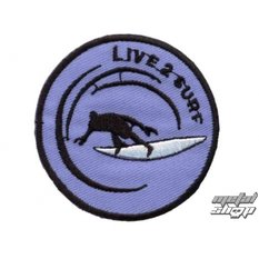 applique de fer Live 2 Surf