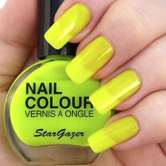 Vernis STAR GAZER - Neon Yellow, STAR GAZER