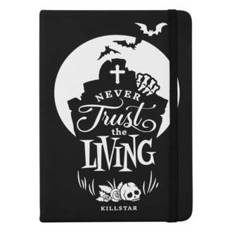 Bloc-notes KILLSTAR - Never Trust The Living - Noir, KILLSTAR