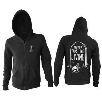 sweat-shirt avec capuche pour hommes - Never Trust The Living - BLACK CRAFT, BLACK CRAFT