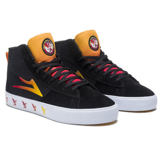 chaussures Lakai x Black Sabbath - Never Say Die - Newport salut - noir suède, Lakai x Black Sabbath, Black Sabbath