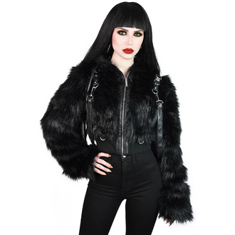 Veste KILLSTAR pour femmes - Night Creature Faux-Fur, KILLSTAR