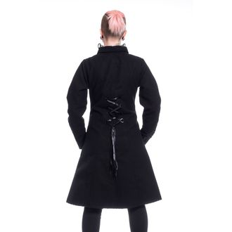 Manteau femmes POIZEN INDUSTRIES - NIGHT PARADE - NOIR, POIZEN INDUSTRIES