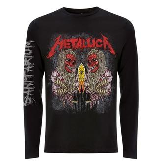 t-shirt pour homme à manches longues Metallica - Sanitarium - Noir, NNM, Metallica