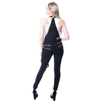 Pantalon Vixxsin pour femmes - NOCTURNAL DUNGAREES - NOIR, VIXXSIN