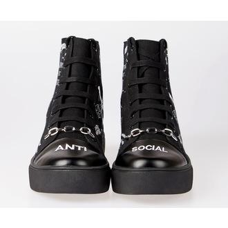 chaussures de tennis montantes unisexe - DISTURBIA, DISTURBIA