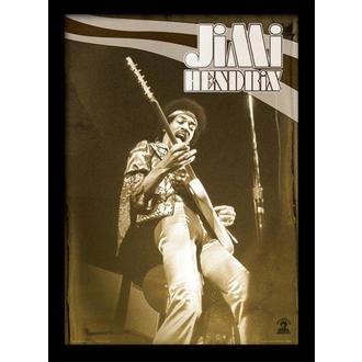 Affiche encadrée Jimi Hendrix - Live - PYRAMID POSTERS, PYRAMID POSTERS, Jimi Hendrix