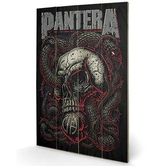Tableau sur bois Pantera - (&&string0&&) - PYRAMID POSTERS, PYRAMID POSTERS, Pantera