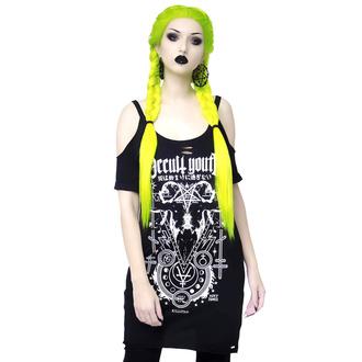 T-shirt (top) pour femmes KILLSTAR - Occult Youth - Distress, KILLSTAR