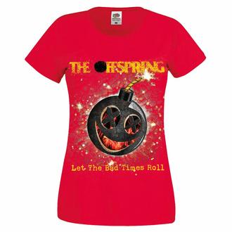 t-shirt pour femmes Offspring - Hot Sauce Bad Times - rouge, NNM, Offspring