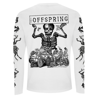 t-shirt pour homme à manches longues Offspring - Skeletons - blanc, NNM, Offspring