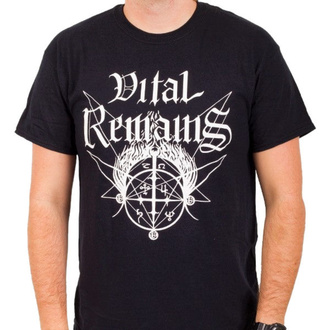 T-shirt Vital Remains pour hommes - Old School - Noir - INDIEMERCH, INDIEMERCH, Vital Remains