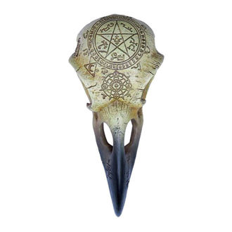Décoration ALCHEMY GOTHIC - Omega Raven Skull, ALCHEMY GOTHIC
