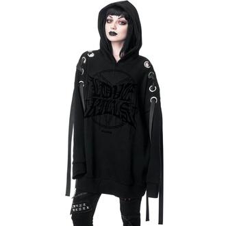 sweat-shirt avec capuche pour femmes - Other Worlds Oversized - KILLSTAR, KILLSTAR