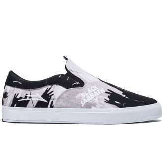 chaussures Lakai x Black Sabbath - Master of Reality - Owen LOUP - noir blanc toile, Lakai x Black Sabbath, Black Sabbath