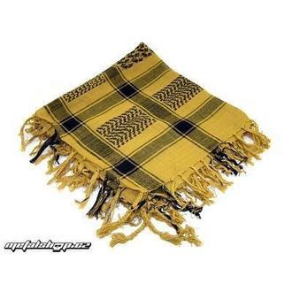 écharpe ARAFAT - palestine - foncé jaune 1