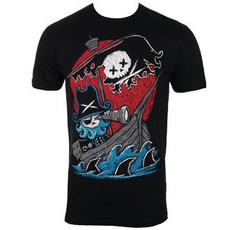 t-shirt hardcore pour hommes - Phantom Voyage - Akumu Ink - 12TM01