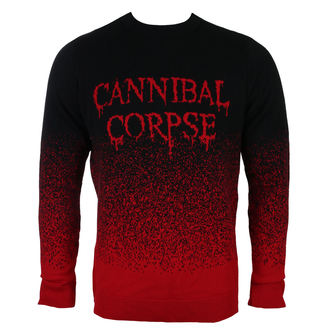 Pull pour hommes CANNIBAL CORPSE - DRIPPING LOGO - PLASTIC HEAD, PLASTIC HEAD, Cannibal Corpse