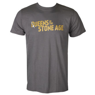tee-shirt métal pour hommes Queens of the Stone Age - TEXT LOGO (METALLIC) - PLASTIC HEAD, PLASTIC HEAD, Queens of the Stone Age