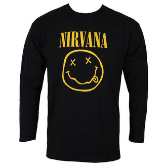 tee-shirt métal pour hommes Nirvana - SMILEY LOGO - PLASTIC HEAD, PLASTIC HEAD, Nirvana