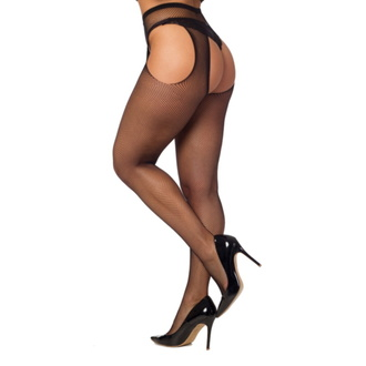 Collants PAMELA MANN - Fishnet Bodyfree - Noir, PAMELA MANN