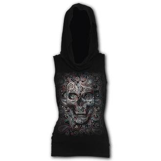 T-shirt sans manches capuche SPIRAL - SKULL ILLUSION, SPIRAL