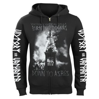sweat-shirt avec capuche pour hommes - BURNING DOGMAS - VICTORY OR VALHALLA, VICTORY OR VALHALLA
