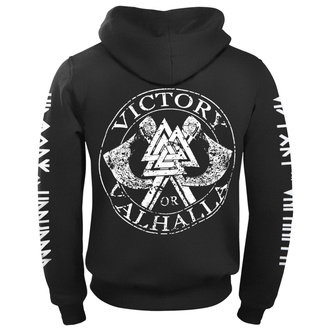 sweat-shirt avec capuche pour hommes - ODIN - VICTORY OR VALHALLA, VICTORY OR VALHALLA