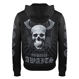 Sweat à capuche pour hommes VICTORY OR VALHALLA - SKULL, VICTORY OR VALHALLA