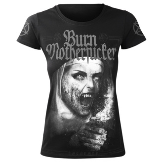 t-shirt hardcore pour femmes - BURN MOTHERFUCKER - AMENOMEN, AMENOMEN