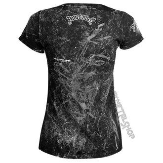 t-shirt hardcore pour femmes - DEVIL - AMENOMEN