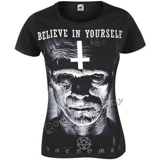 t-shirt hardcore pour femmes - FRANKENSTEIN - AMENOMEN, AMENOMEN
