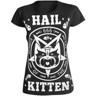 T-shirt pour femmes AMENOMEN - HAIL KITTEN, AMENOMEN