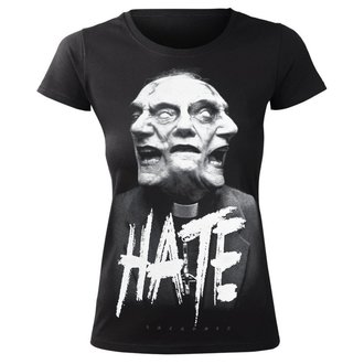 t-shirt hardcore pour femmes - HATE - AMENOMEN, AMENOMEN