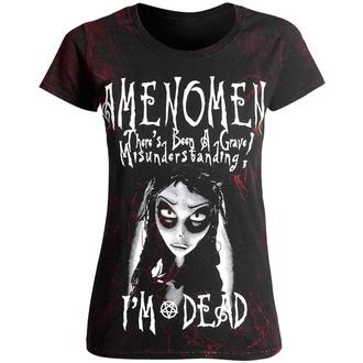 T-shirt pour femmes AMENOMEN - NIGHTMARE, AMENOMEN