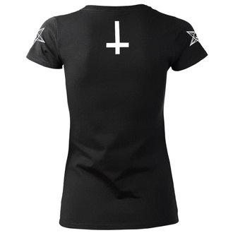 t-shirt hardcore pour femmes - SATAN IS REAL - AMENOMEN, AMENOMEN
