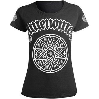 t-shirt hardcore pour femmes - STAR - AMENOMEN, AMENOMEN