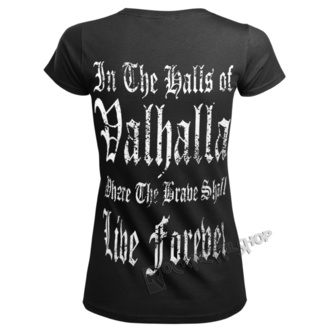 t-shirt pour femmes - BURNING DOGMAS - VICTORY OR VALHALLA, VICTORY OR VALHALLA
