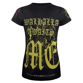 t-shirt femmes VICTORY OR VALHALLA - CROW SKULL, VICTORY OR VALHALLA