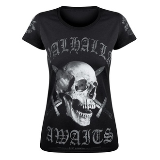 T-shirt pour femmes VICTORY OR VALHALLA - SKULL, VICTORY OR VALHALLA
