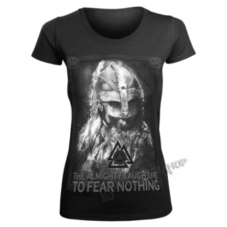 t-shirt pour femmes - THE ALMIGHTY TAUGHT ME TO FEAR NOTHING - VICTORY OR VALHALLA, VICTORY OR VALHALLA